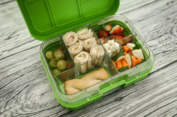 Munchbox Munch box bento bentobox maxi maxi6 Green Jungle Yumbox