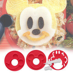 Mickey Mouse Food Cutter Set