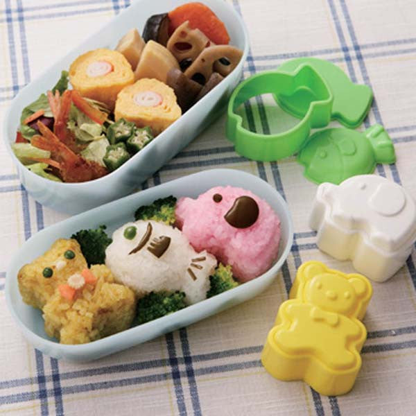 Trio Animal Rice Mould Set