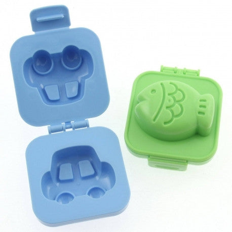 Fish & Car Egg Moulds