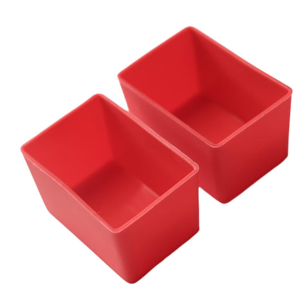 MUNCH CUPS - Red Rectangle