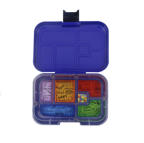 Munchbox Munch box bento bentobox maxi maxi6  Yumbox Midnight Blue
