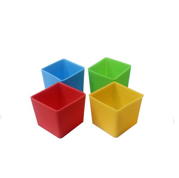 MUNCH CUPS - Bold Squares (4 pieces)