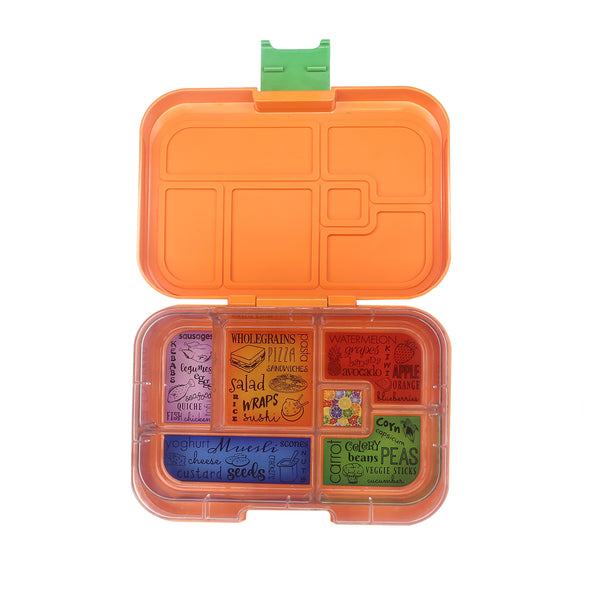 Munchbox Munch box bento bentobox maxi maxi6  Yumbox Orange Tropicana