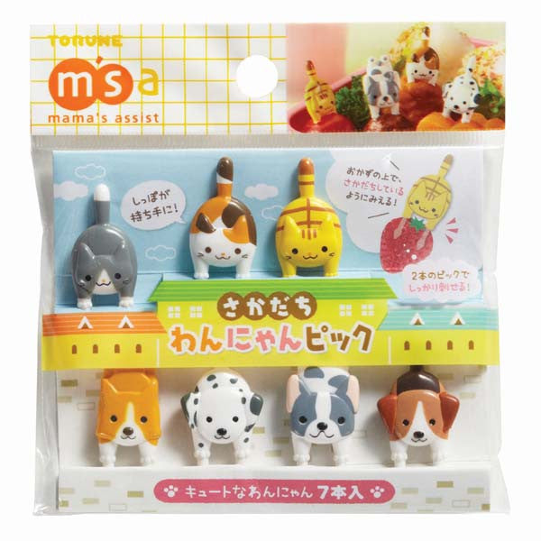 Dogs & Cats Bento Food Pick