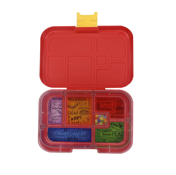 Munchbox Munch box bento bentobox maxi maxi6  Yumbox Red Lava