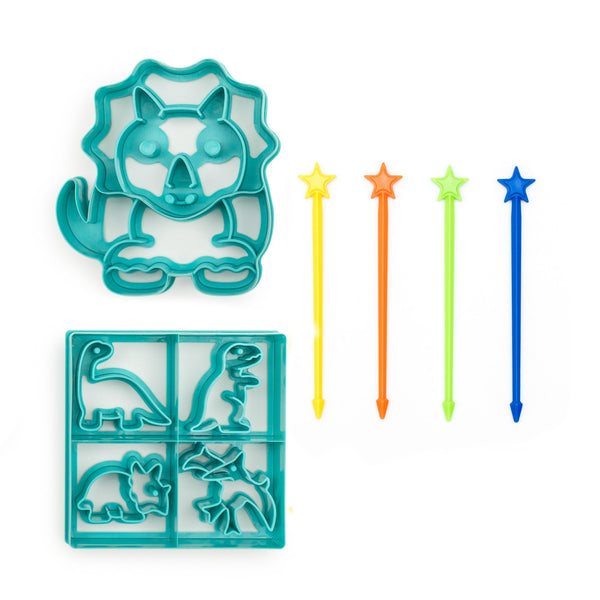 Lunch Punch Cutter & Stix Value Bundle - DINOSAUR