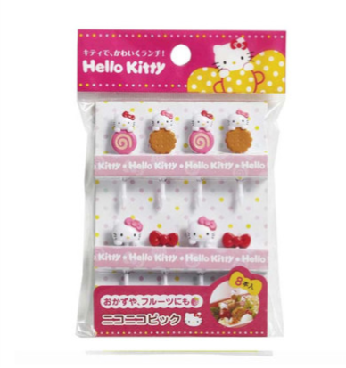 Hello Kitty Sweet Food Picks