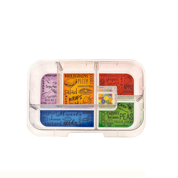 Maxi artwork tray munchbox munch box bento yumbox