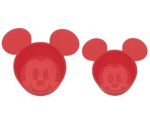 Mickey Mouse Silicone Cups