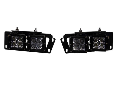 2010-2015 Dodge Ram 2500/3500 & 2009-12 Dodge Ram 1500 Fog Light Kit - LMDPERFORMANCE,