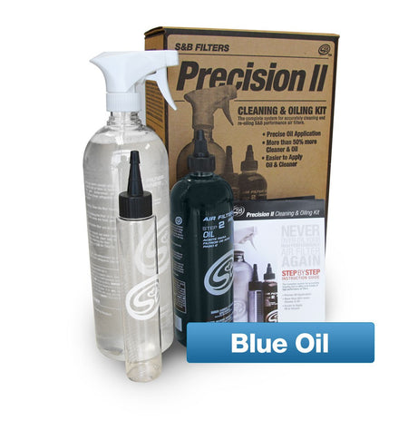 Precision II: Cleaning & Oil Kit (Blue Oil) - LMDPERFORMANCE,