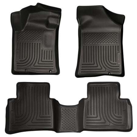 2013-2017 NISSAN ALTIMA FRONT & 2ND SEAT FLOOR LINERS- BLACK - LMDPERFORMANCE,