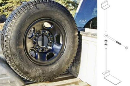 Spare Tire Mount KIT - LMDPERFORMANCE,