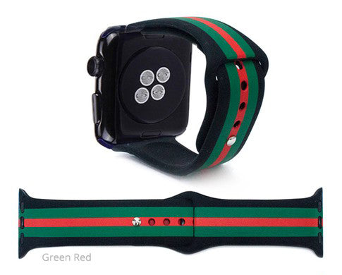 RED/GREEN WATCH BAND