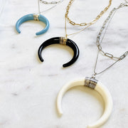 HORN STATEMENT NECKLACE