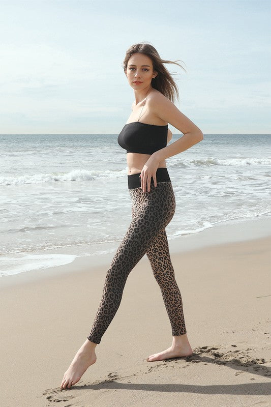 SEAMLESS LEOPARD LEGGINGS
