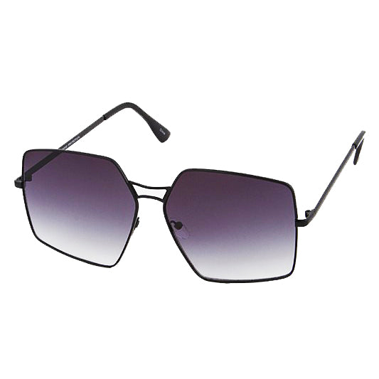 BLACK MODERN FASHION SUNGLASSES