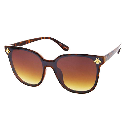 BUMBLE BEE TURTLE SHELL SUNGLASSES
