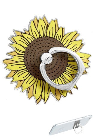 SUNFLOWER PHONE GRIP
