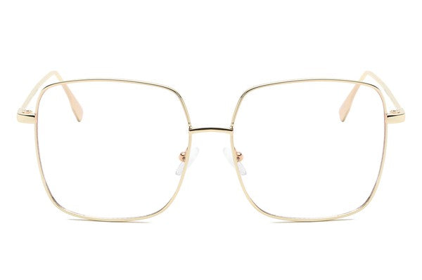 GOLD FRAMED BLUE LIGHT SUNGLASSES