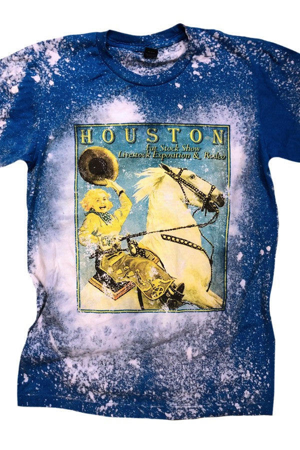 HOUSTON STOCK SHOW VINTAGE TEE