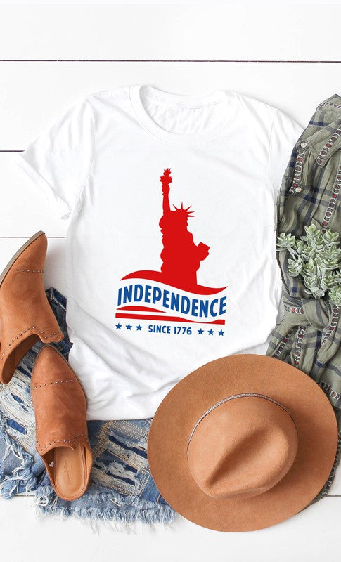 INDEPENDENCE DAY - WHITE TEE
