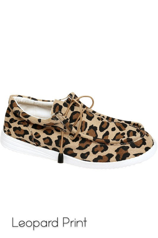 LEOPARD BRO SLIP-ON SNEAKERS
