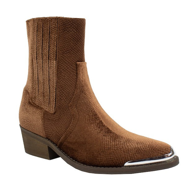 WHISKEY BROWN BOOTIES