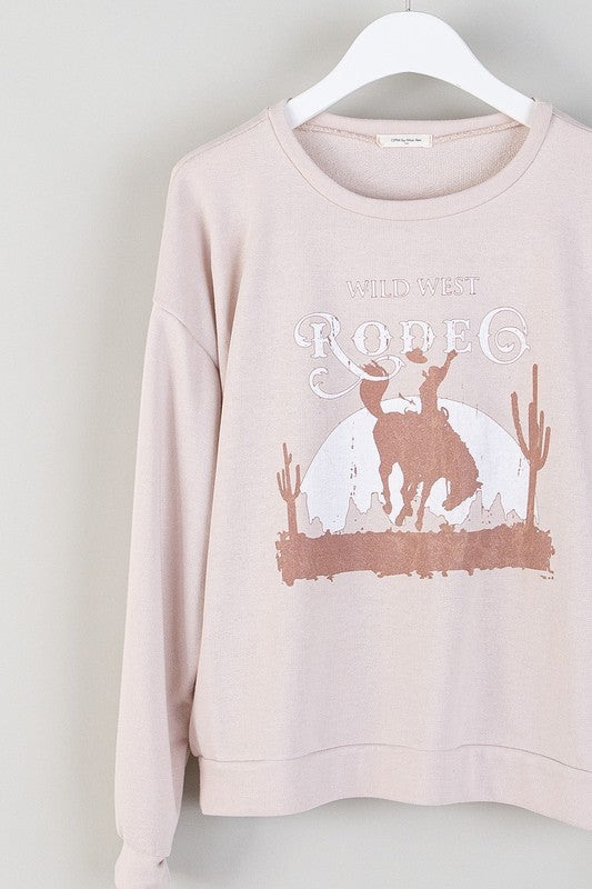 WILD WEST RODEO - SEASHELL PULLOVER