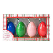 CHRISTMAS LIGHT CUP (4-PACK ASSORTED)