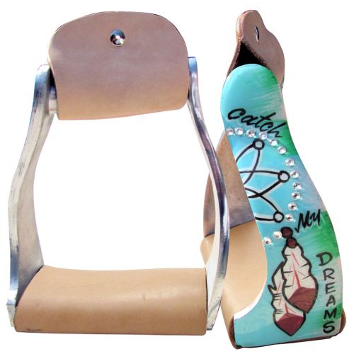 CATCH MY DREAMS ALUMINUM STIRRUPS