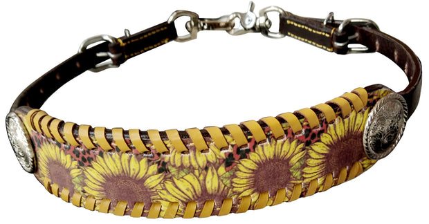 TACKTICAL™  SUNFLOWER LEOPARD WITHER STRAP