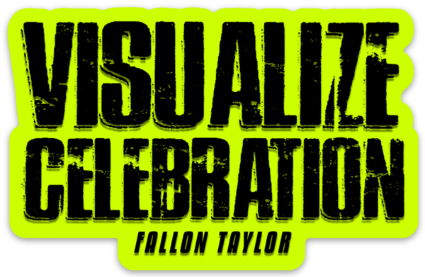 VISUALIZE CELEBRATION STICKER