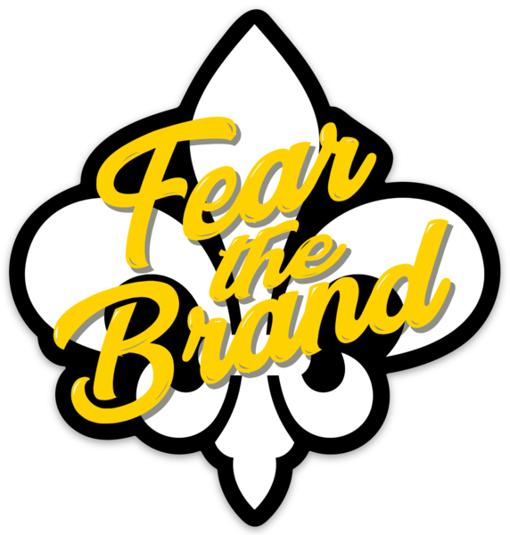 FEAR THE BRAND STICKER