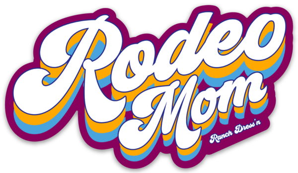 RODEO MOM STICKER