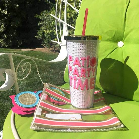 PATIO PARTY 24OZ TUMBLER