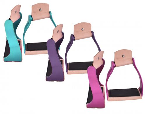 LIGHTWEIGHT COLOR COATED TWISTED STIRRUPS