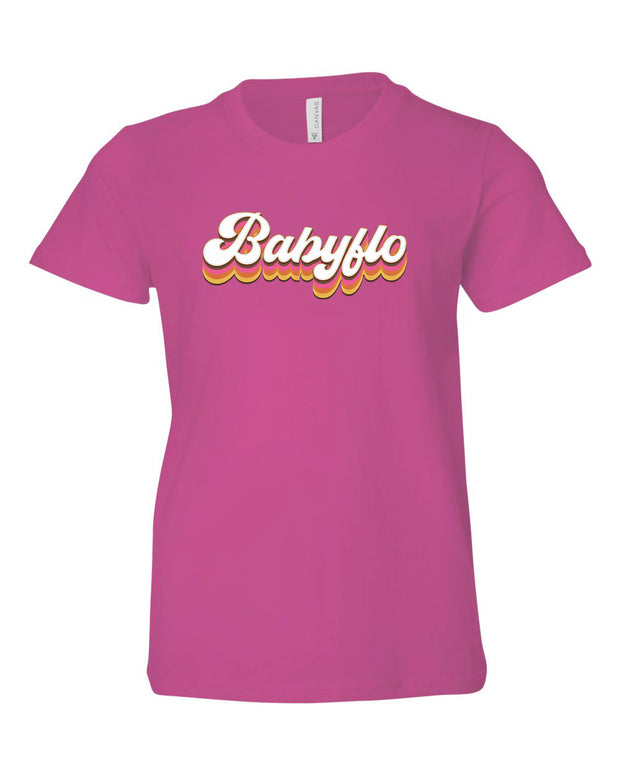 BABYFLO (GROOVY) - *YOUTH* BERRY TEE
