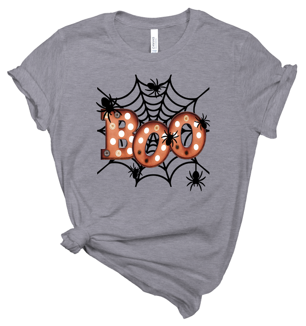 BOO - HEATHER STORM TEE