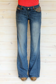 DURANGO - TROUSER FIT DENIM JEANS