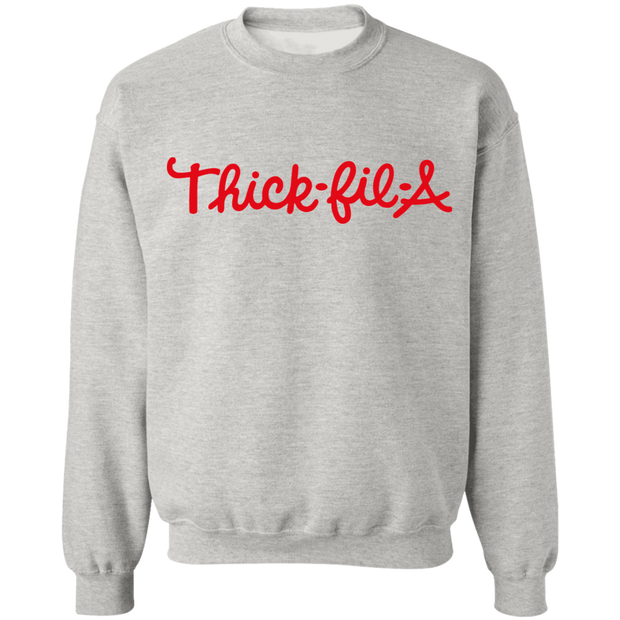 THICK-FIL-A HEATHER GRAY SWEATSHIRT
