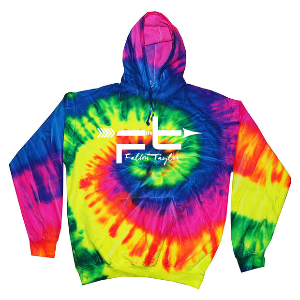 FALLON TAYLOR TIE DYE HOODIE (YOUTH & ADULT)