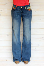 HOME ON THE RANGE DENIM JEANS