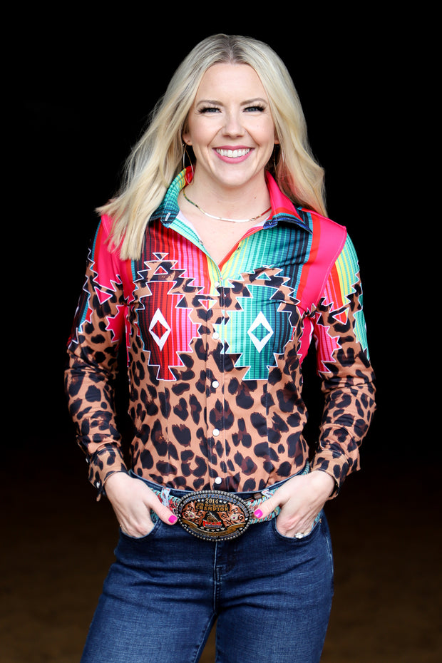 WILD WEST PERFORMANCE RODEO SHIRT (ADULT)