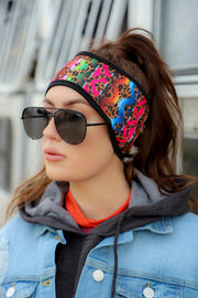 WILD WEST MICRO FLEECE HEAD WRAP