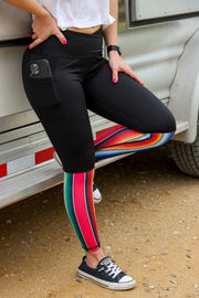 SERAPE CROSSOVER LEGGINGS