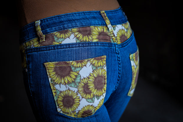 SUNFLOWER DENIM JEANS - YOUTH