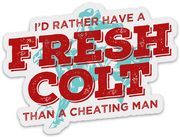 Fresh Colt - Sticker