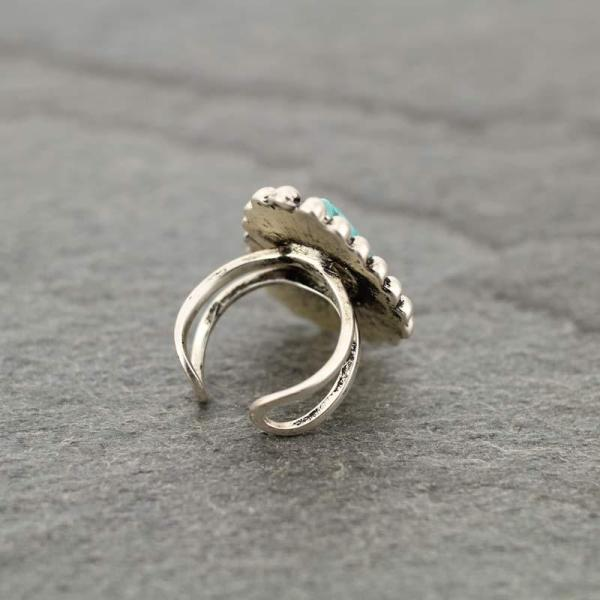 JAXSON NATURAL STONE RING